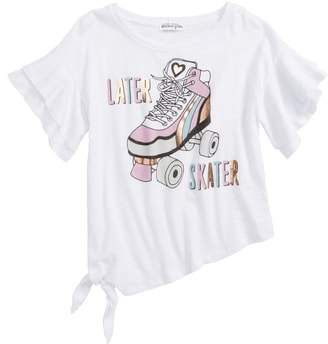Ten Sixty Sherman Later Skater Graphic Ruffle Tee