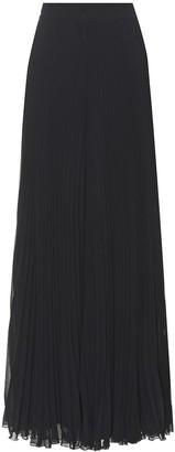 Max Mara Liegi plisse maxi skirt