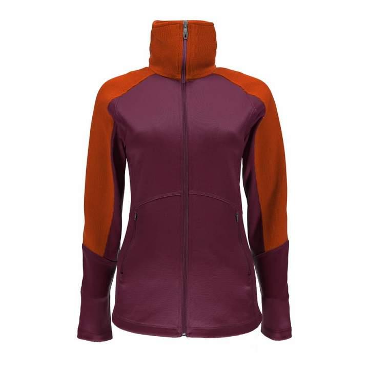 Womens Purple/Orange Bandita Full Zip Stryke Jacket