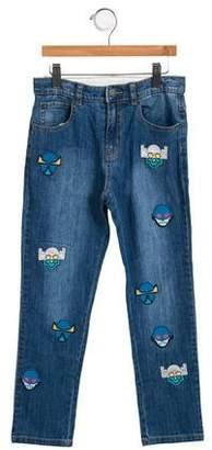 Stella McCartney Boys' Lohan Super Hero Jeans