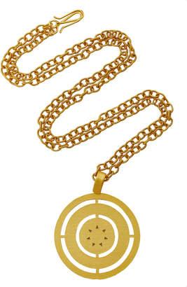 Paula Mendoza Costa Gold-Plated Brass Necklace