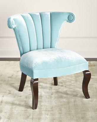 At Horchow · Haute House Kylie Channel Tufted Chair