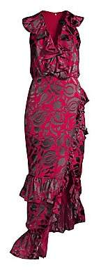 Saloni Women's Anita Midi Sheath Dress