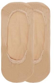 Wolford Footsies Cotton Blend Socks - Womens - Nude