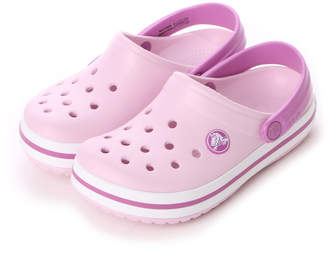 Crocs (クロックス) - クロックス crocs ジュニアサンダル 10998-6LS
