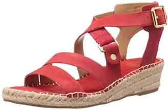 Franco Sarto Women's L-Lenah Espadrille Wedge Sandal $37.11 thestylecure.com