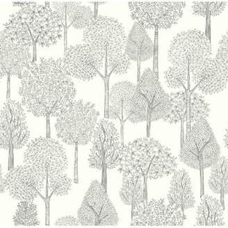 DwellStudio Baby & Kids Treetops 33' x 20.5 Wallpaper Roll
