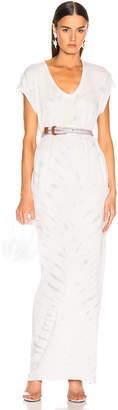 Raquel Allegra for FWRD Caftan Dress in Air Tie Dye | FWRD