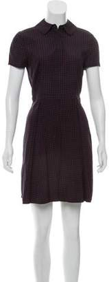 Tory Burch Silk Mini A-Line Dress