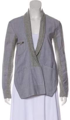 Yigal Azrouel Cut25 by Asymmetrical Cropped Jacket