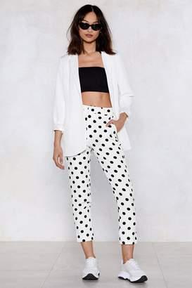 Nasty Gal Got It Spot On Polka Dot Pants