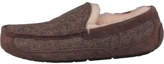 UGG Mens Ascot Tweed Slippers Stout
