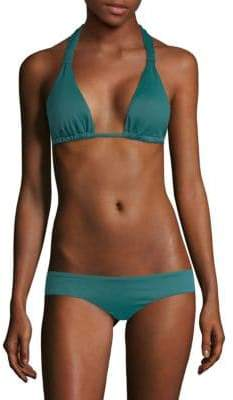 Eberjey Solid Lennon Bikini Top