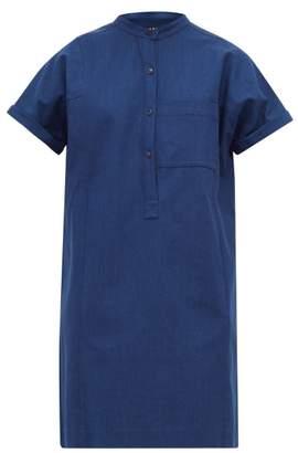 A.P.C. Temple Denim Shirtdress - Womens - Indigo