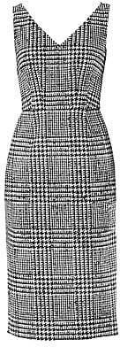 Carolina Herrera Women's Sleeveless Wool & Silk Houndstooth Sheath Dress