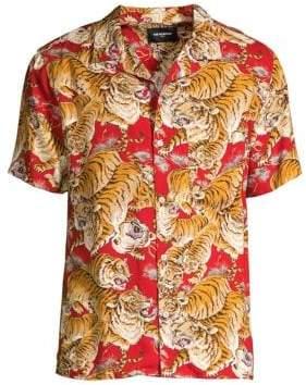 The Kooples Tiger Print Shirt