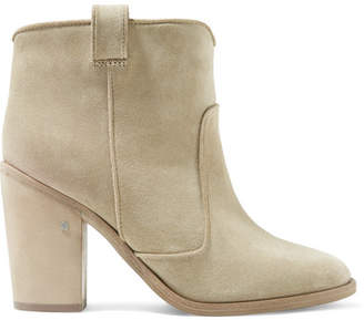 Laurence Dacade Pete Suede Ankle Boots - Beige