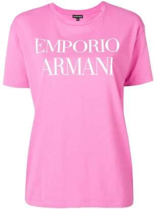 Emporio Armani (エンポリオ アルマーニ) - Emporio Armani ロゴ Tシャツ