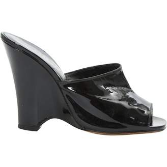 Marc Jacobs Patent Leather Mules