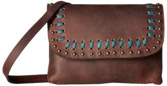 Leather Rock Taylor Crossbody Cross Body Handbags
