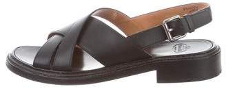 Church's Leather Slingback Sandals