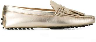 Tod's fringed driving loafers