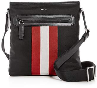 Bally Currios Signature Stripe Messenger Bag