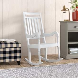 Laurèl Foundry Modern Farmhouse Glen Ullin Rocking Chair Frame