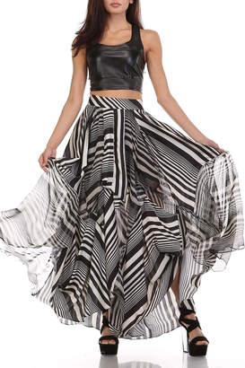 Tov Licorice Striped Maxi