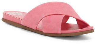 Vince Camuto Esulla Crisscross Leather Slides