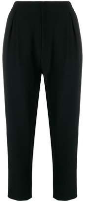 Sara Lanzi high-rise cropped trousers