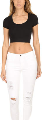 Anthony Logistics For Men Atm By Thomas Melillo ATM Modal Rib Cropped Tee