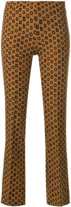 Mirtillo Meme cropped trousers