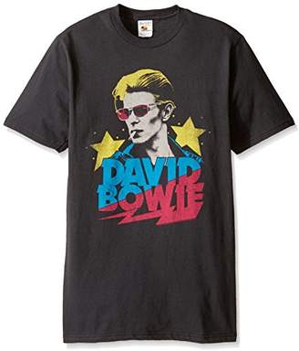 FEA Men's David Bowie Adult Short Sleeve T-Shirt