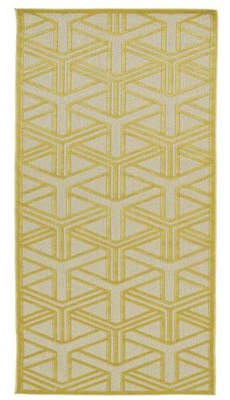 Wildon Home Bainsbury Gold Indoor/Outdoor Area Rug