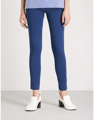Joseph High-rise skinny stretch-cotton trousers