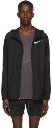 Nike (ナイキ) - Nike ブラック ウィンドランナー ジャケット