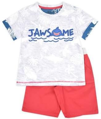 Nannette Toddler Boy T-shirt & Woven Shorts, 2pc Outfit Set