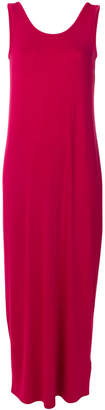 Armani Exchange sleeveless jersey dress