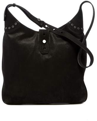 Lucky Brand Rose Suede Shoulder Bag
