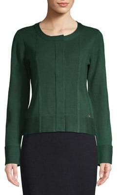 Donna Karan Long Sleeve Cardigan