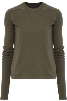 Rick Owens Cotton-Fleece Sweatshirt