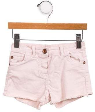 Babe & Tess Cutoff Denim Shorts