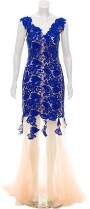 Jovani Lace Evening Dress
