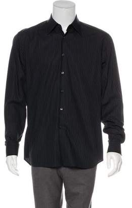 Prada Striped Dress Shirt
