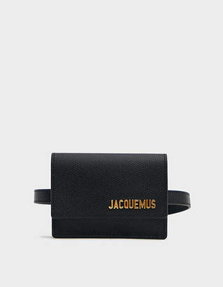 Jacquemus Belt Bag in Black