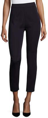 Misook Slim-Leg Pull-On Pants, Plus Size