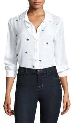 Bella Dahl Star-Print Button-Down Shirt
