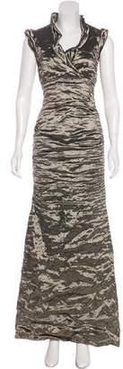 Nicole Miller Sleeveless Maxi Dress
