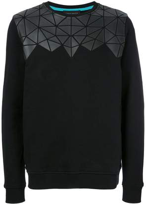 Frankie Morello geometric sweatshirt